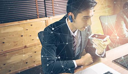 1:複数の一斉連絡だけではなく、メッセージ送信機能や自動録音機能など便利な機能が多数搭載されています